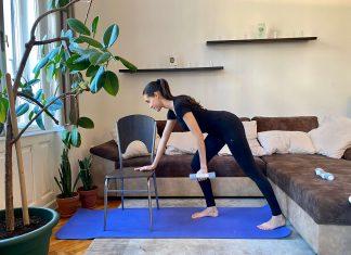 otthoni edzés; karantén; edzésterv